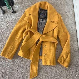 Millard Fillmore pea coat